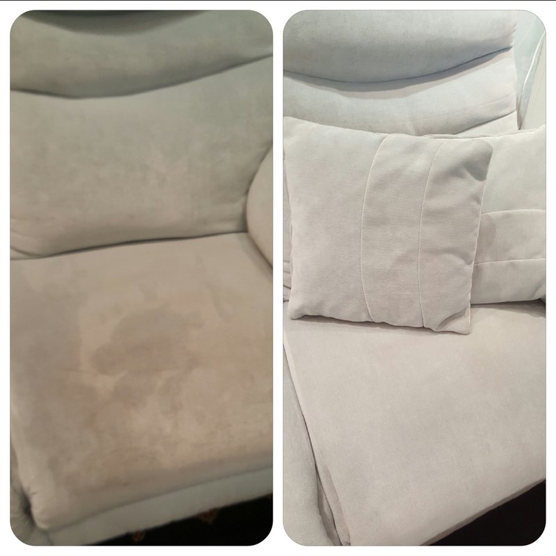 uncleaned cushions