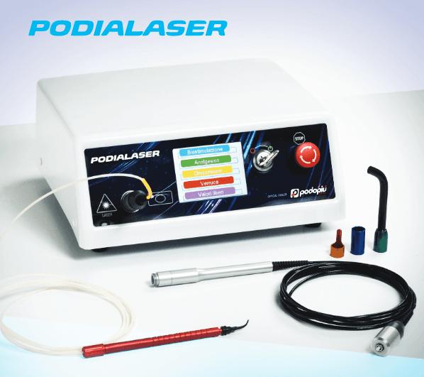 laser per trattamenti podologici
