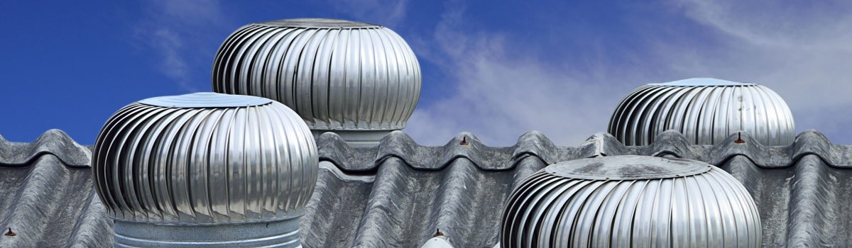 Downs Roofing Windmaster Whirlybirds.