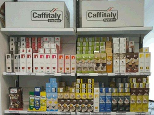 scatole di caffè