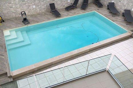 piscina 5x10cm rettangolare
