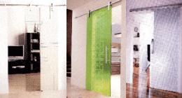 porta scorrevole verde