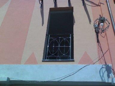 ringhiera porta finestra
