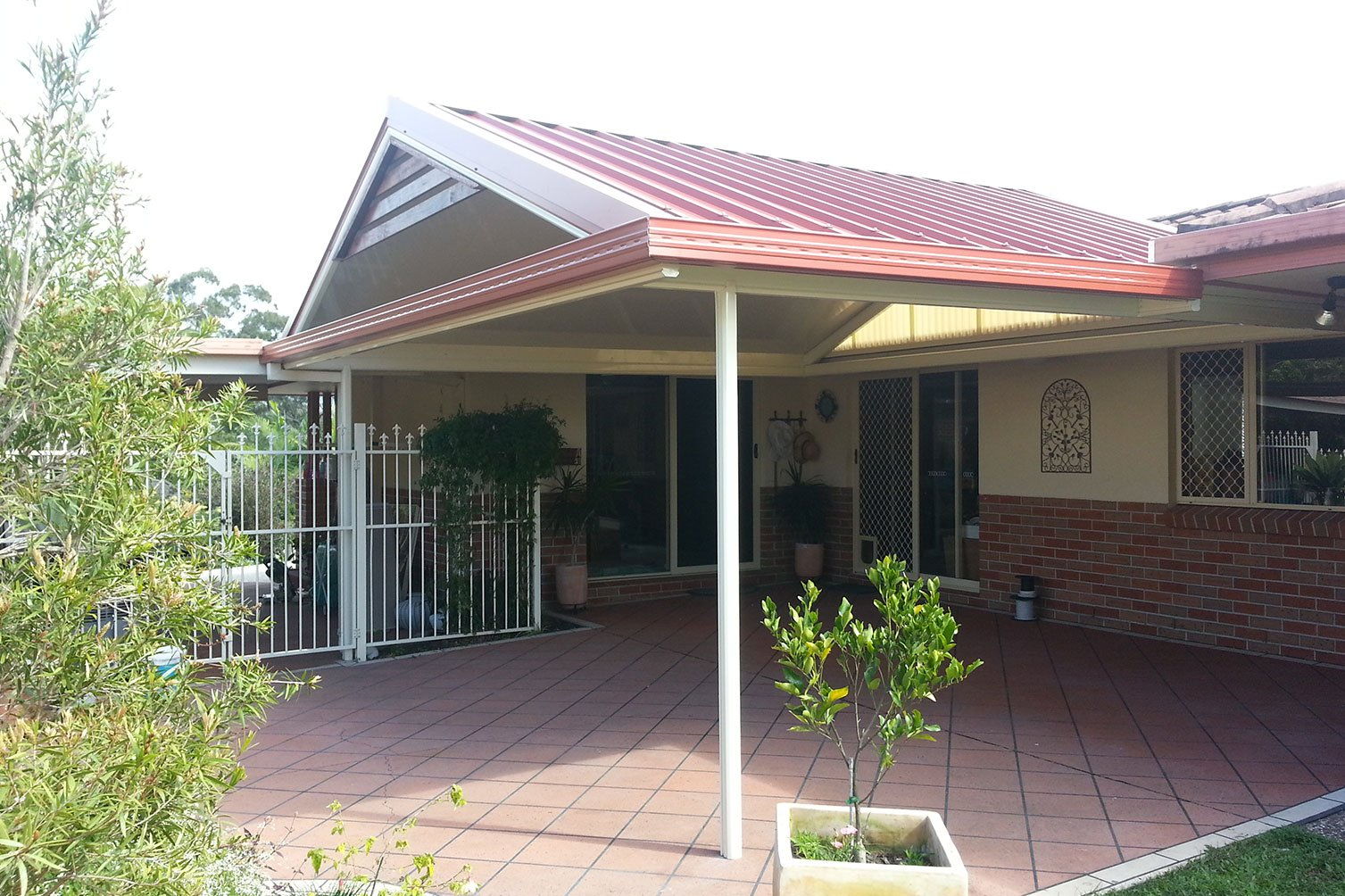 Enjoy outdoor from your gabled roof patios in Gold Coast