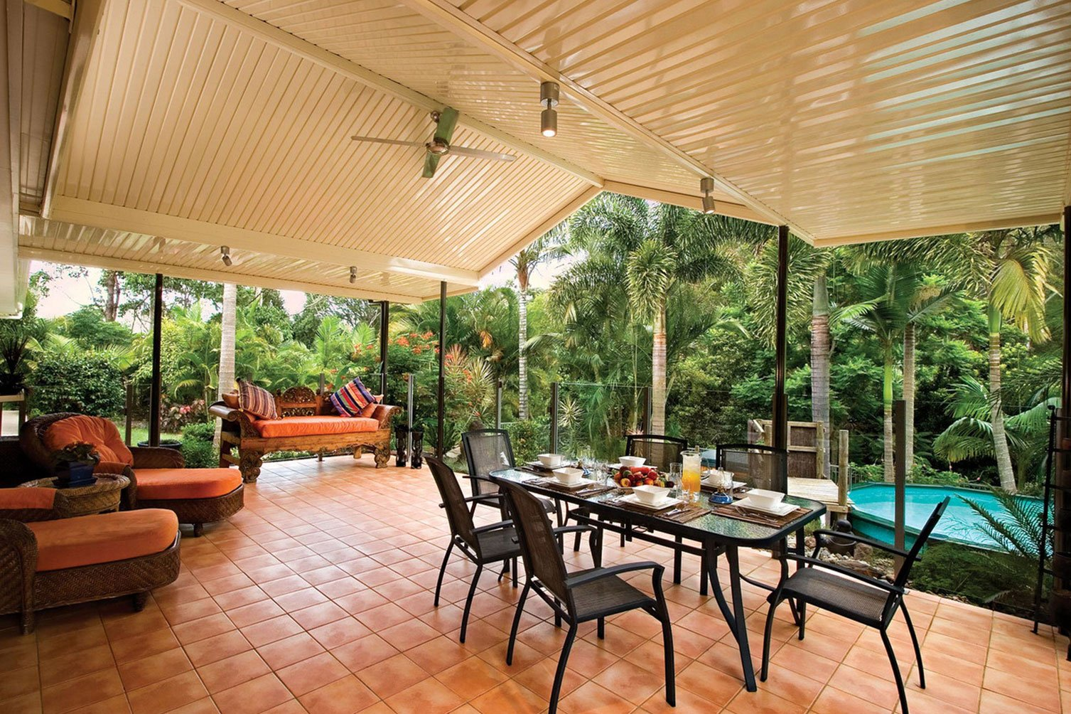 An exceptional outdoor perspective from a patio in Murwillumbah