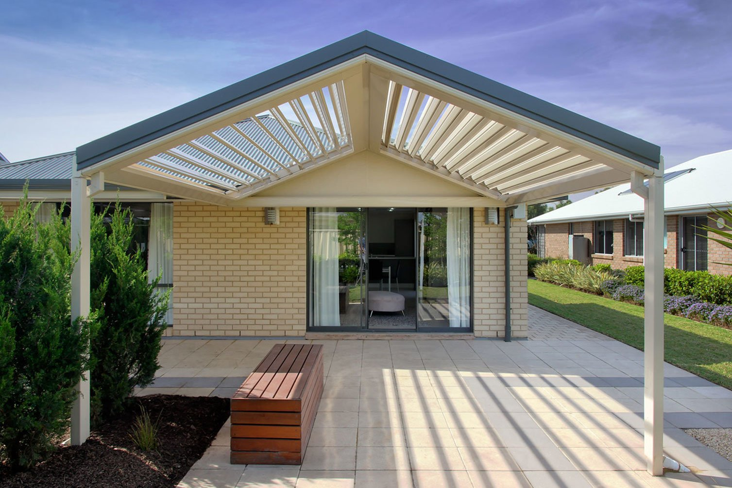 Feel the warm sunshine in the opening sunroofs in Murwillumbah proudly design of patio builders