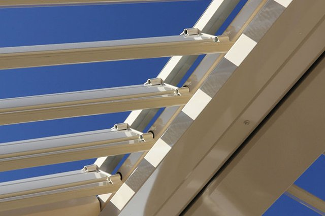 Electronically controlled louvres of the opening sunroof in Gold Coast