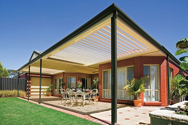Watch the sun shine under the opening sunroofs in Byron Bay with patio builders