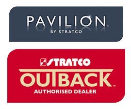 Stratco patio authorized dealer in gold coast company logo