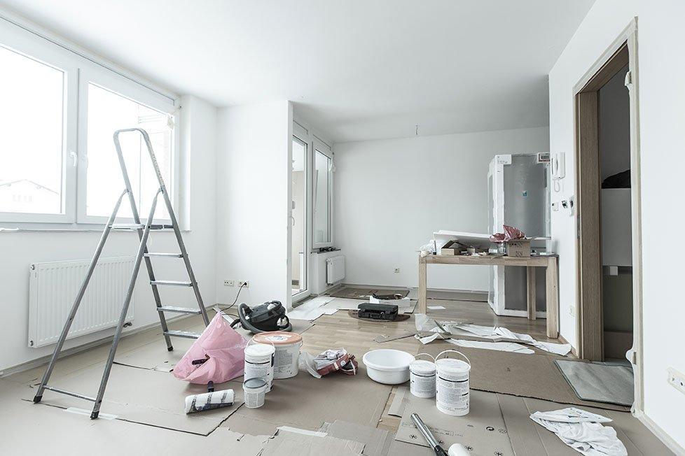 appartamento in corso di ristrutturazione