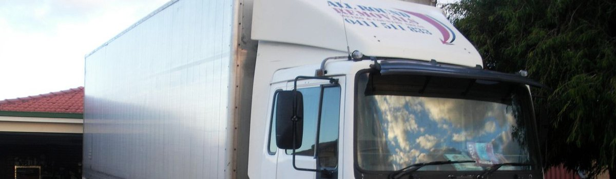 all round removals company volvo transport truck