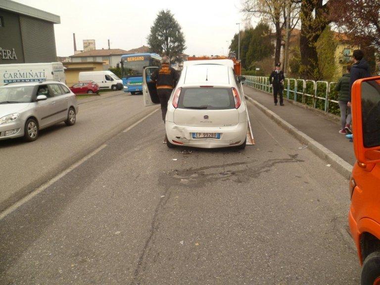 lavaggio strada post incidente