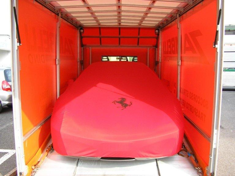 trasporto Ferrari bergamo