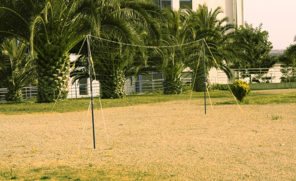 campo sportivo con rete