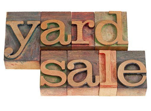 Craft Fair Yard Sign