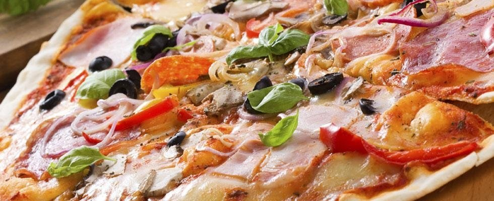 pizza forno a legna Daverio