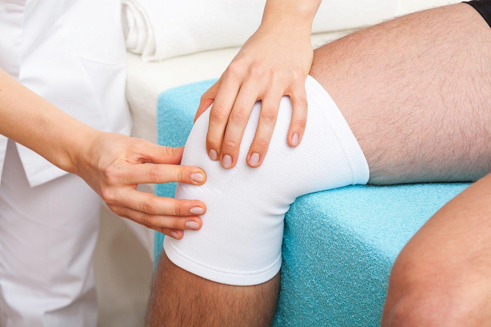 controllo ginocchio