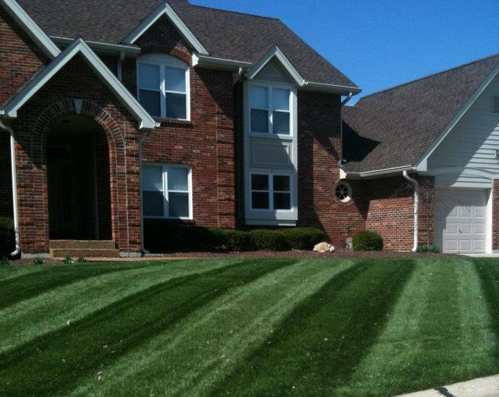 Core aeration and over seeding in St. Charles, MO
