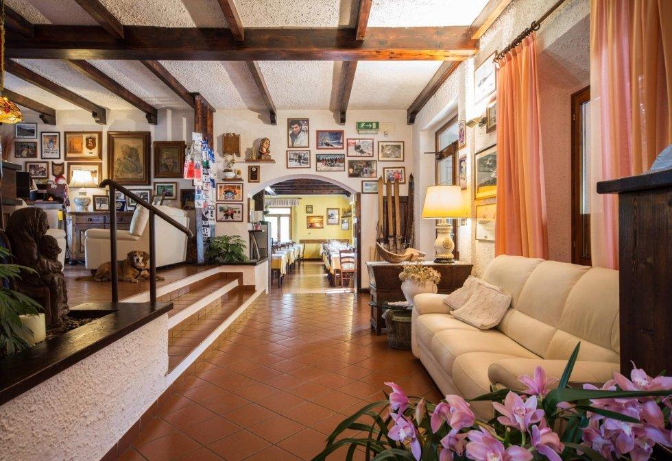 salotto Hotel corno alle scale
