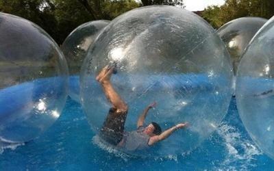 waterball per piscina