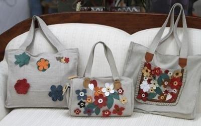 borsette in stoffa a fiori