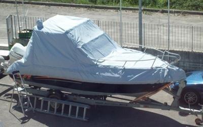 copertura barca rimovibile