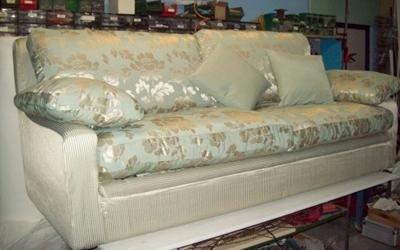 divano stoffa coordinata