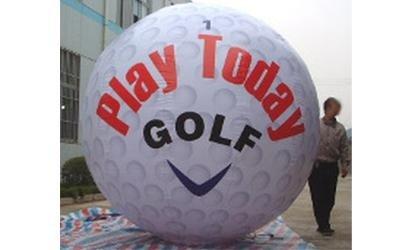 pallina golf gonfiabile