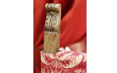 rivestimento per sedia antica