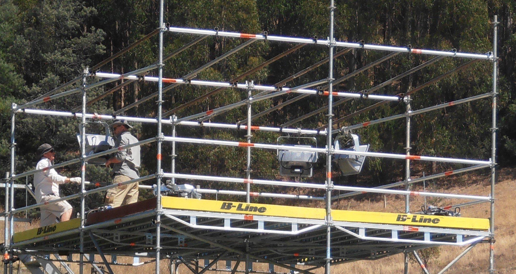 Modular scaffolding