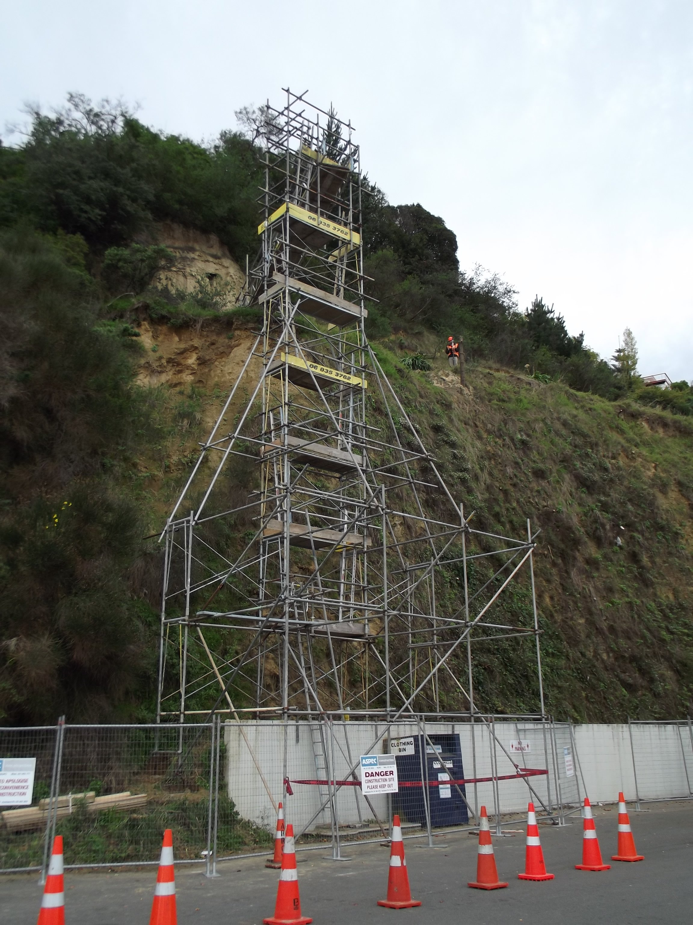 Scaffolding services in Napier