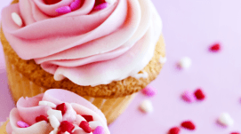 Pasticceria la perla, Lucca, pasticcino crema rosa
