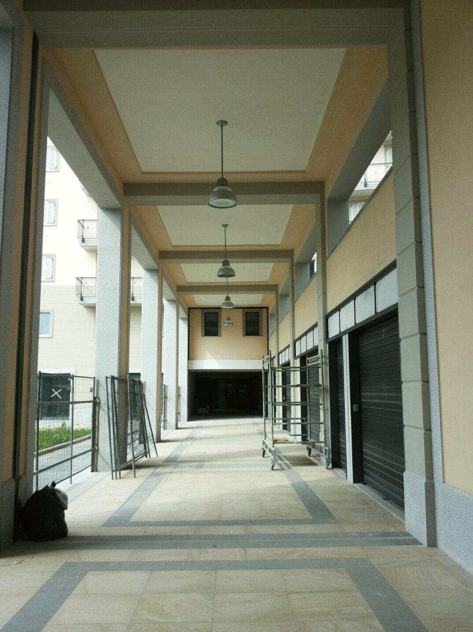 ampio portico di una palazzina