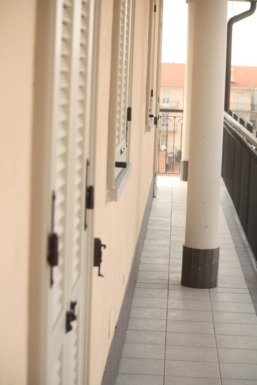 corridoio di un balcone