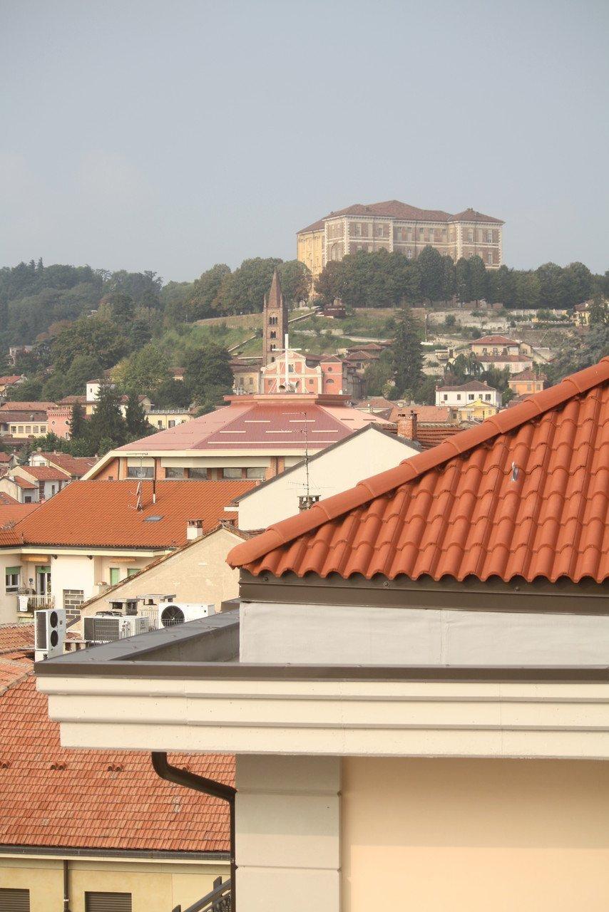foto panoramica con tetti di case