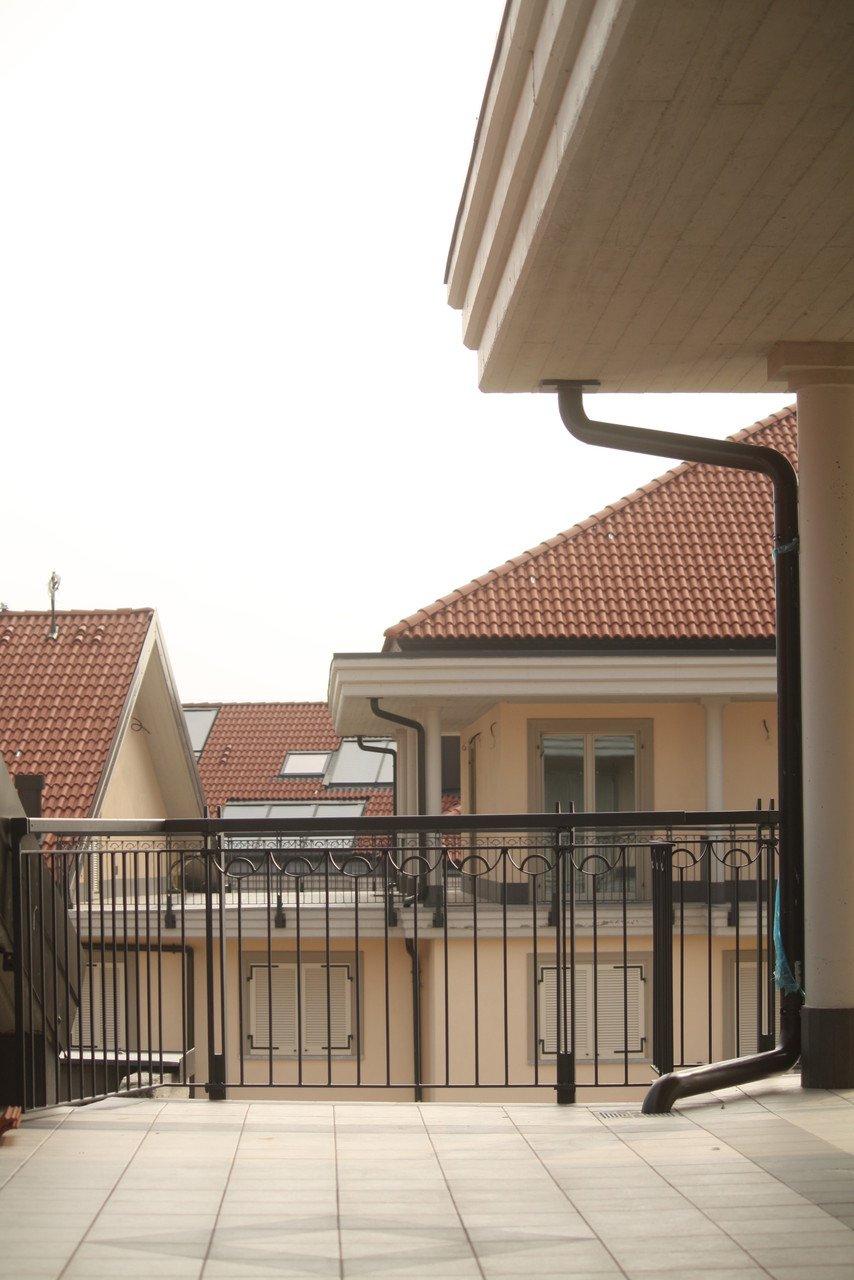 foto di un balcone