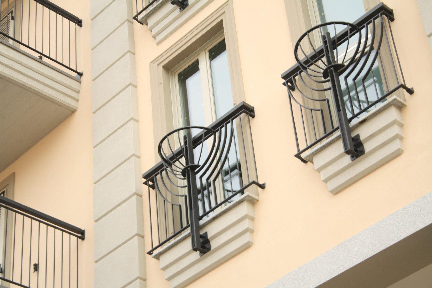 finestre di un palazzo
