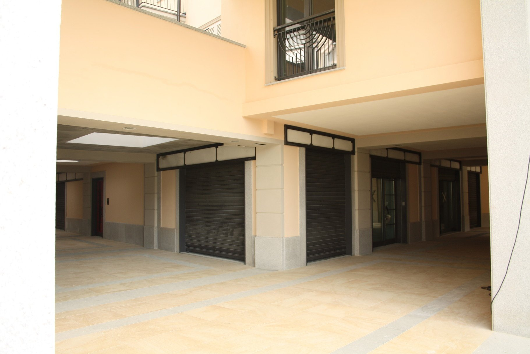 garage di un condominio