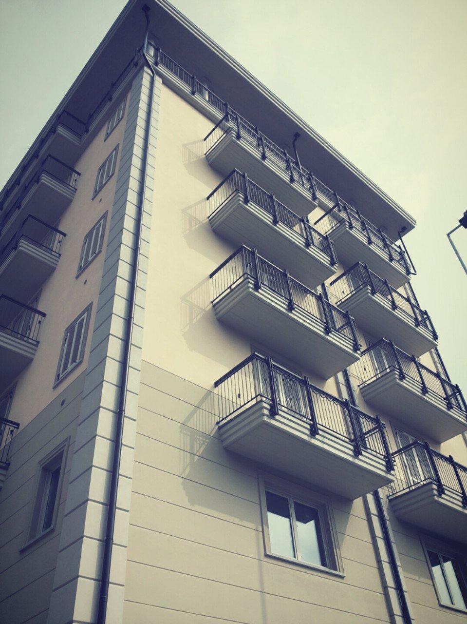 foto di un edificio residenziale