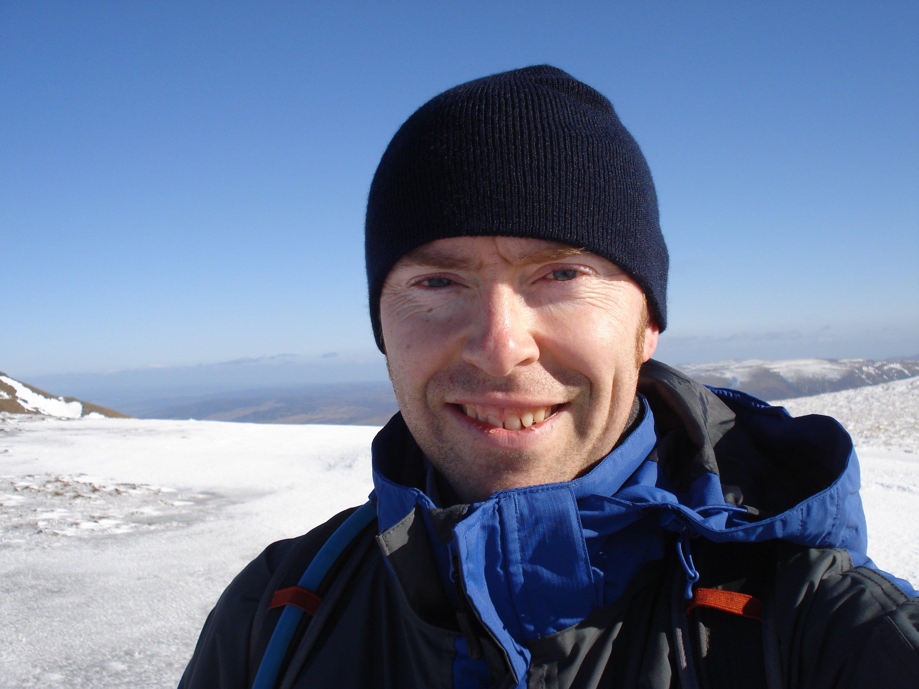 Br Antony Jukes in the Scottish Highlands