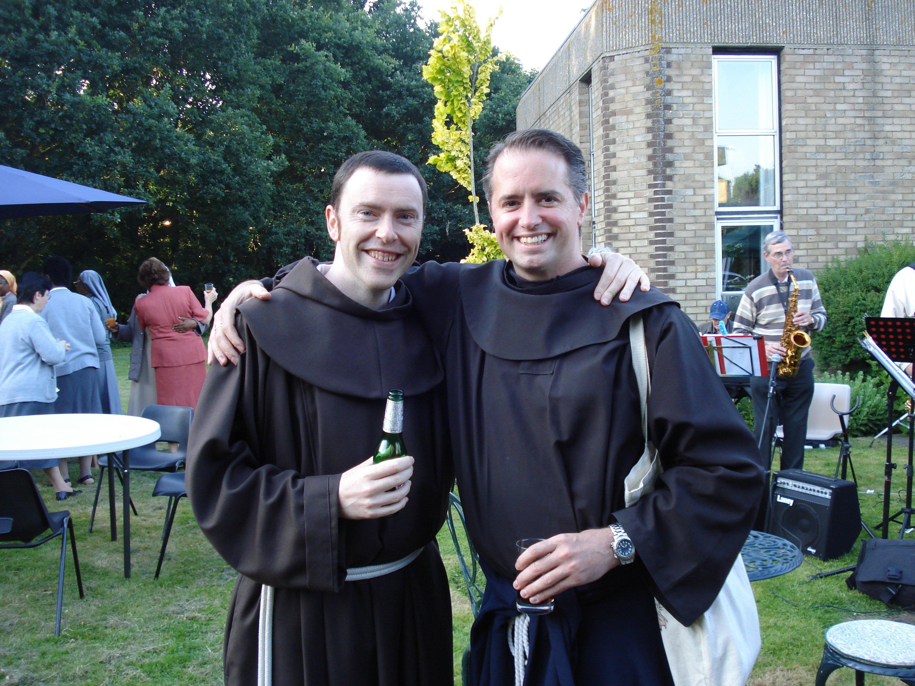 Br Antony and Br Michael de la Penna OFM