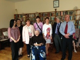 Br Ignatius with his Family