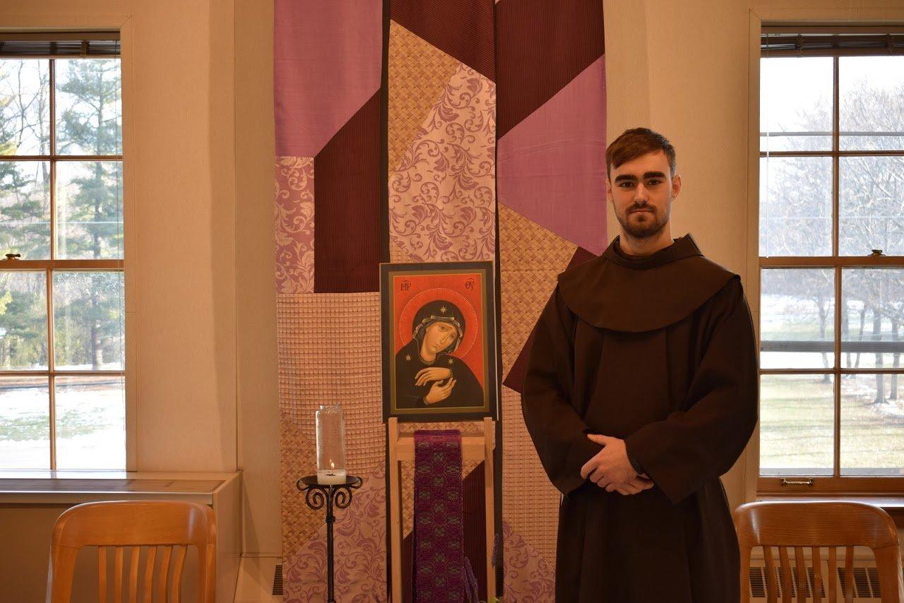 Kes in the Franciscan Habit
