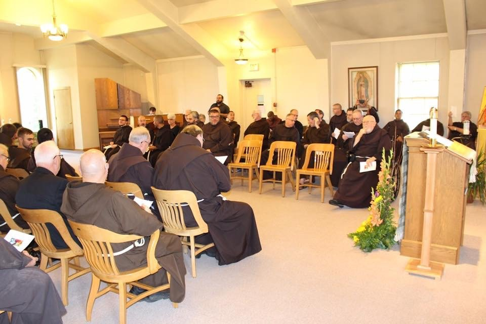 Friars and friends in the congregation