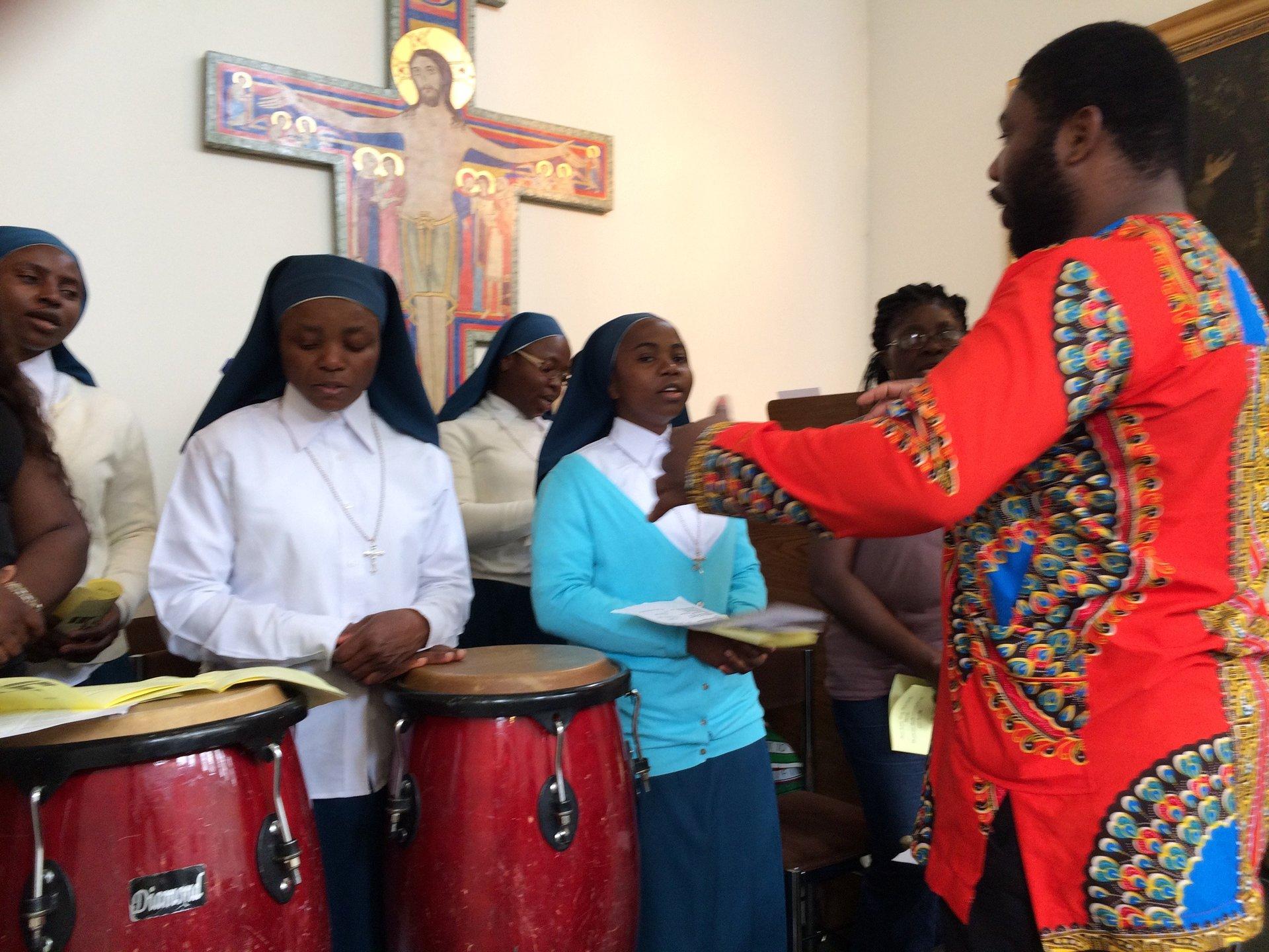 Parish Choir sings