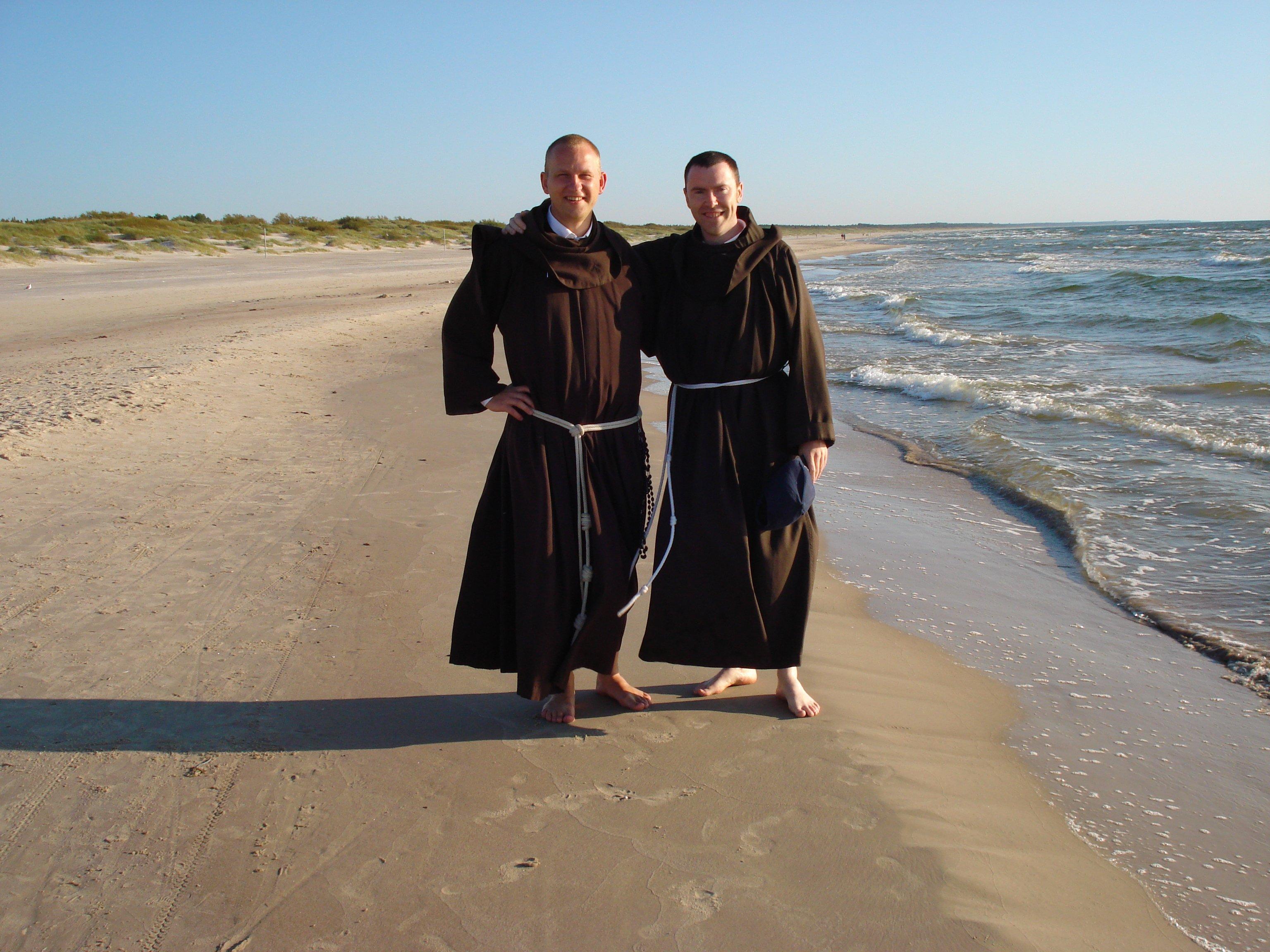 Br Antanas OFM and Br Antony