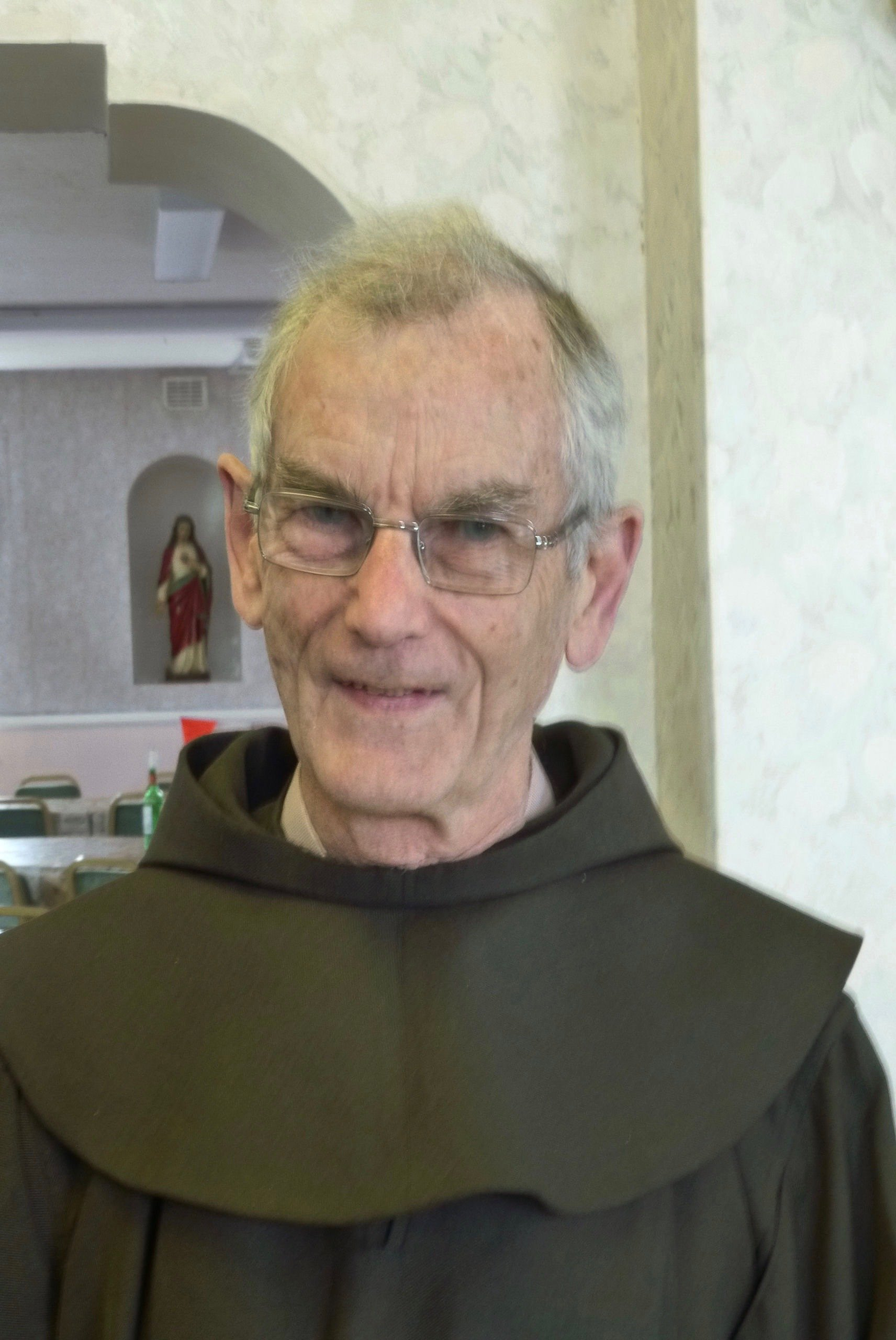 Quentin Jackson 70 years a Friar