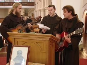 Br Antanas OFM (Lithuania), Br Antony and Br Alvydas OFM (Lithuania)