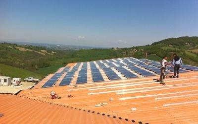 impianto solare azienda agricola