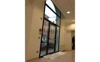 Porta vetrata esterna